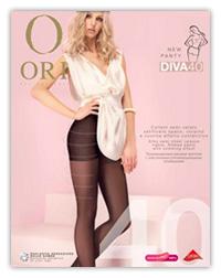 Колготки с шортиками ORI Diva 40 den