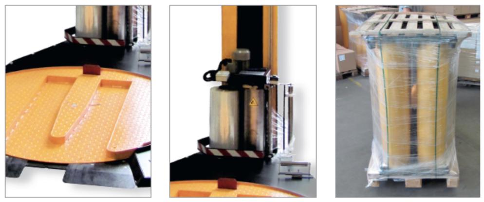 Варіанти стабілізації продукта на палеті