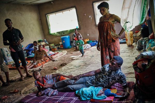 IDPs in Munyenge Village, South West Region, Cameroon Photo credit: REWAC 2018