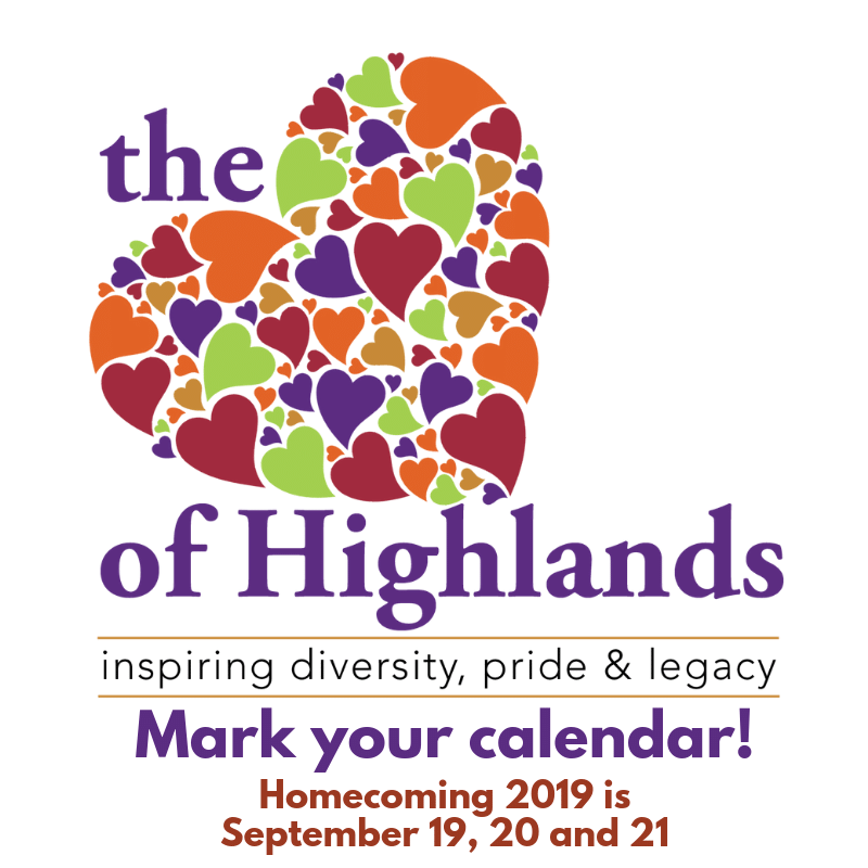 Homecoming 2019 is September 19, 20 and 21