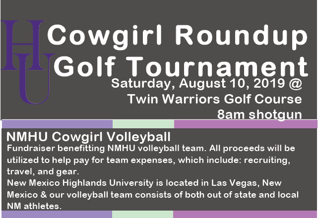 Golf Tournament for Volleyball