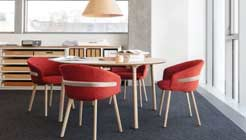 Дизайнеры разработали стильную серию офисных кресел